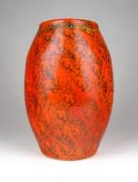 1F331 Retro TÓFEJ iparművészeti kerámia váza 20.5 cm