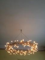 Függő csillár fényfüzér 60x60