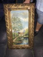 Eladó 2 DB olaj vászon festmény!