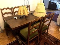 Ebédlő asztal + 6 szék