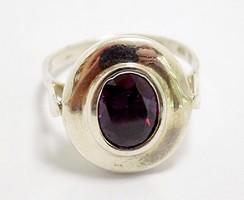 Lila köves ezüst gyűrű (ZAL-Ag96722)
