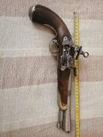Elöltöltős kovás pisztoly