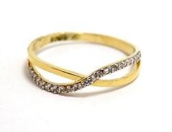 Köves arany gyűrű (ZAL-Au92745)
