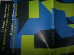 Műgyűjtőknerk+ Biksady galéria 33. aukció katalógusa 20-21. sz. művészet, iparművészet, fotó