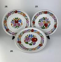 Kalocsai porcelán falitányér 5.