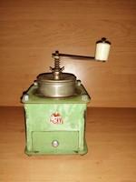 Antik HKT fém kávédaráló