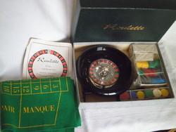 Régi játék roulette