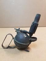 Antik ritka Max Sievert benzinlámpa az 1800as évek végéről