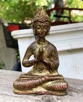 KÍNAI RÉZ VAGY BRONZ BUDDHISTA BUDDHA SZOBOR FIGURA, KÍNA JAPÁN, NEPÁL TIBET CHINESE BUDDHA BRONSE