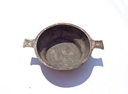 Régi 800-as német ezüst kis tálka