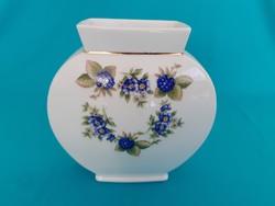Holóházi különleges formájú szeder mintás váza