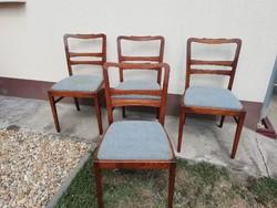Art deco stílusú fa székek, 4db