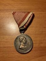 I. Ferenc József vitézségi érem ezüst fokozat