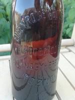 Eugen Rosenblüth Jenő Sörnagykereskedő Roznava üveg palack