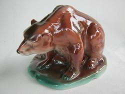 Arpo porcelán barna medve mackó maci