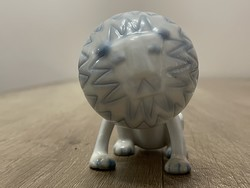 Nagyon ritka! Aquincum oroszlán porcelán figura !