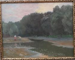 Czencz János (1885-1960) - Erdeti festmenye Garanciával