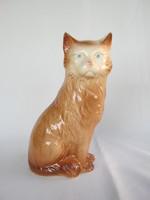Porcelán nagy méretű cica macska