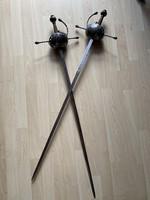 XVII. századi spanyol Rapier kard páros