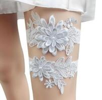 Esküvői, menyasszonyi harisnyakötő szett  ES-HK01-2 ezüst