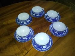 Kínai porcelán kávés 6 személyes