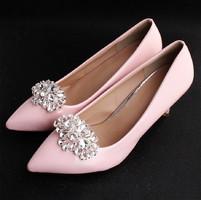 Esküvői, menyasszonyi, alkalmi cipődísz, cipőklipsz ES-CK25