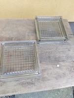2 db retro üvegtégla