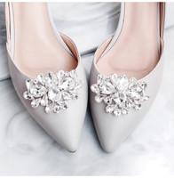Esküvői, menyasszonyi, alkalmi cipődísz, cipőklipsz ES-CK26