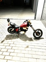 Yahama Virago retro játék motor !
