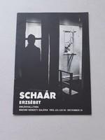 Elizabeth Schaár - catalog