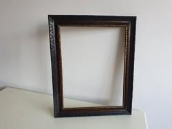 Vintage régi nagy képkeret fotó kép keret fotókeret 48,7 x 37,5 cm