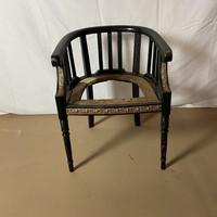 Empire karfás szék