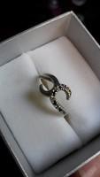 Cirkónia 925 ezüst gyűrű! Gyönyörű!