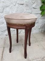 Francia barokk ülőke, zsámoly, puff
