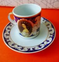 Sisi kávés csésze