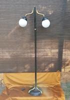 Régi nosztalgikus 165 cm magas állólámpa kétkaros nehéz állólámpa