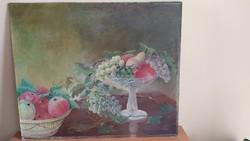 Csendélet festmény 60x51 cm