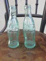 Retro orosz Coca-Cola kis üveg palackok