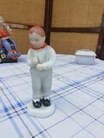 Aquincumi vidrágot tartó fiú