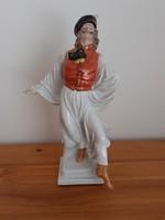 Herendi Táncoló juhász porcelán figura szobor