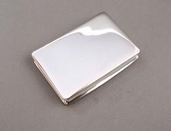 Régi ezüst tubákos szelence.