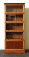 1F499 Régi 5 elemes Lingel szekrény könyvespolc 185 x 75 cm