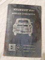Trabant 601 kezelési útmutató