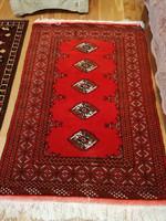 Gyönyörű türkmén szőnyeg 148 x 102 cm