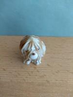 Ritka!!! Aquincumi porcelán kutyus Ősz Szabó Antónia tervei alapján