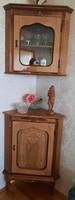 Corner cabinet inlaid