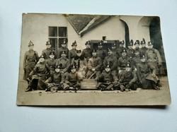 CSENDŐRÖK CSOPORTKÉPE - Bihar vármegye, 1923