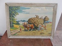 Régi kép, 75x55 cm