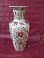 Zsolnay egyedi váza, mester festett. 36 cm