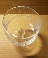 Magányos retró konyakos / pezsgős pohár